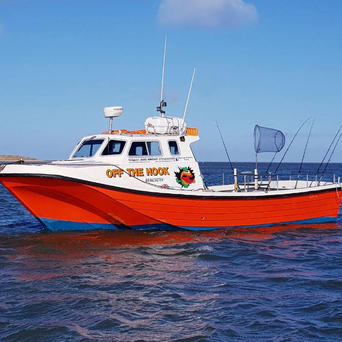 Image of Off The Hook, fishing vessel available for day charter trips